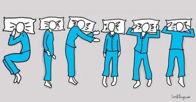 Η στάση που παίρνουμε κατά τη διάρκεια του ύπνου σχετίζονται με τη ψυχολογία μας