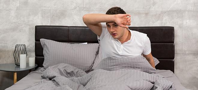 Πού οφείλεται η νυχτερινή εφίδρωση στον άντρα
