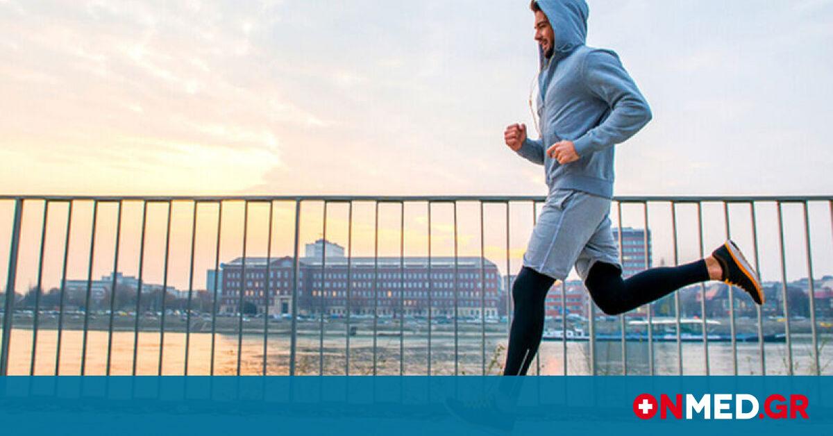 Δες τι σου προσφέρουν λίγα λεπτά τρεξίματος την ημέρα