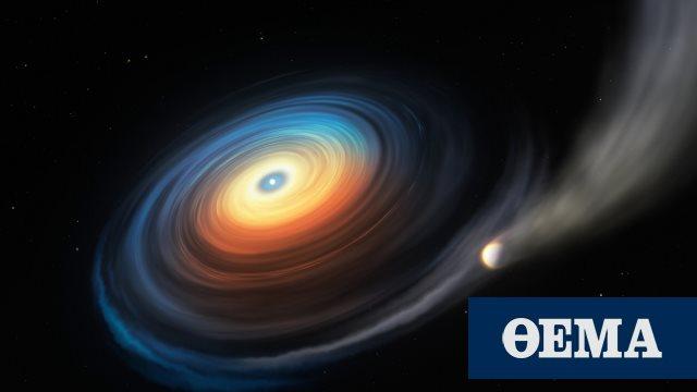 Άστρο «λευκός νάνος» εξαερώνει γιγάντιο εξωπλανήτη