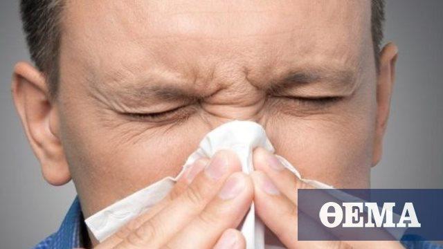 Η ρύπανση του αέρα επιδεινώνει τα συμπτώματα της ρινίτιδας